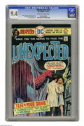 Bronze Age (1970-1979):Horror, Unexpected #170 (DC, 1975) CGC NM 9.4 Off-white to white pages.Luis Dominguez cover. Ernie Chan and Noly Panaligan art. Ove...