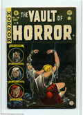 Golden Age (1938-1955):Horror, Vault of Horror #39 (EC, 1954) Condition: FN+. Bondage cover. Thisbook could not be encapsulated due to an overhang. Overst...