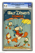 Golden Age (1938-1955):Funny Animal, Walt Disney's Comics and Stories #126 File Copy (Dell, 1951) CGCNM- 9.2 Cream to off-white pages. Overstreet 2005 NM- 9.2 v...