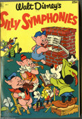 Golden Age (1938-1955):Miscellaneous, Dell Giant Comics Silly Symphonies #1-4 Bound Volume (Dell, 1952-54). These are Western Publishing file copies which have be...