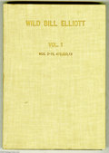 Golden Age (1938-1955):Miscellaneous, Dell Miscellaneous Titles Bound Volumes (Dell, 1950-56). Here's a nice pair of Western bound volumes, from the Dell files. F... (2 items)