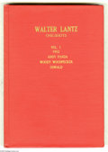 Golden Age (1938-1955):Miscellaneous, Walter Lantz Miscellaneous Comics Bound Volume Group (Dell, 1952-53) Condition: Average VG. Two bound volumes; Vol. 1 featur... (2 )