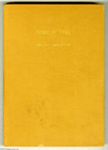Golden Age (1938-1955):Miscellaneous, Dell Miscellaneous Titles Bound Volumes (Dell, 1952-58). The lot consists of two bound volumes from the Dell's reference fil... (2 items)