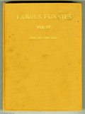 Golden Age (1938-1955):Miscellaneous, Famous Funnies Bound Volumes (Eastern Color, 1942-47). This title had the distinction of being the first comic book series t... (2 items)