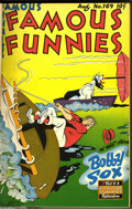 Golden Age (1938-1955):Miscellaneous, Famous Funnies Bound Volumes (Eastern Color, 1948-53) Condition: Average VG. Two volumes of Famous Funnies make up this ... (2 )