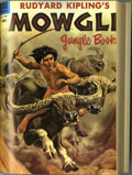 Golden Age (1938-1955):Miscellaneous, Four Color Bound Volume Group (Dell, 1954-55) Condition: Average VG. Two bound volumes featuring Four Color one-shots. V... (2 )