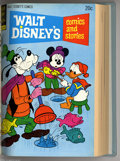 Bronze Age (1970-1979):Miscellaneous, Gold Key Disney Titles Bound Volumes (Gold Key, 1970-74). These areWestern Publishing file copies which have been trimmed a... (2 )