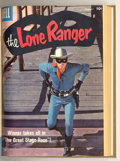 Golden Age (1938-1955):Western, The Lone Ranger #109-132 Bound Volume (Dell, 1957-60). These areWestern Publishing file copies which have been trimmed and ... (2 )