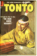 Golden Age (1938-1955):Western, The Lone Ranger's Companion, Tonto #2-13 and 26-33 Bound Volume(Dell, 1951-59). These are Western Publishing file copies wh... (2Books)