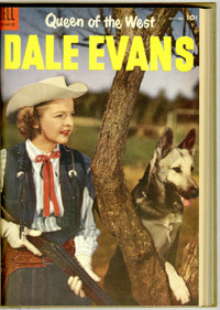 Queen of the West Dale Evans #3-22 Bound Volumes (Dell, 1954-59). Here's the full run of this series, not counting Dale'...