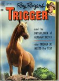 Golden Age (1938-1955):Western, Roy Rogers' Trigger #2-17 Bound Volumes (Dell, 1951-55). These are Western Publishing file copies which have been trimmed an... (2 )