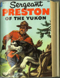 Golden Age (1938-1955):Adventure, Sergeant Preston of the Yukon #7-29 Bound Volume Group (Dell, 1953-59) Condition: Average VG. Two bound volumes from the pop... (2 )