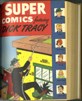 Golden Age (1938-1955):Miscellaneous, Super Comics #97-121 Bound Volumes (Dell, 1946-49). While these Western Publishing file copies have been trimmed and bound f... (2 )