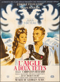"""Movie Posters:Foreign, The Eagle has Two Heads (La Société des Films Sirius, 1948). French Grande (45.5"""" X 62"""") Michel Gerard Artwork. Foreign.. ..."""