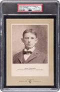 Baseball Cards:Singles (Pre-1930), 1902-11 W600 Sporting Life Type 1-1902 Jack Chesbro (Street Clothes) PSA VG-EX+ 4.5 - The Only PSA Example! . ...