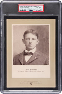 1902-11 W600 Sporting Life Type 1-1902 Jack Chesbro (Street Clothes) PSA VG-EX+ 4.5 - The Only PSA Example!