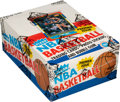 Basketball Cards:Unopened Packs/Display Boxes, 1986-87 Fleer Basketball Wax Box with 36 Unopened Packs. . ...