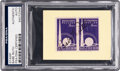 Baseball Collectibles:Others, 1939 Babe Ruth Signed Postage Stamp. . ...