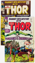 Silver Age (1956-1969):Superhero, Journey Into Mystery #115 and 119 Group (Marvel, 1965) Condition:Average VG+.... (Total: 2 Comic Books)