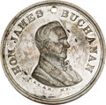 Political:Tokens & Medals, James Buchanan: High-Relief Medal by F. B. Smith. ...