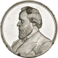 Political:Tokens & Medals, Rutherford B. Hayes: High-Relief Medal. ...
