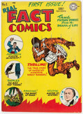 Golden Age (1938-1955):Non-Fiction, Real Fact Comics #1 (DC, 1946) Condition: FN+....