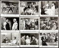 """Movie Posters:Comedy, Robin and the 7 Hoods (Warner Brothers, 1964). Photos (17) & Behind the Scenes Photo (Approx. 8"""" X 10""""). Comedy.. ... (Total: 18 Items)"""