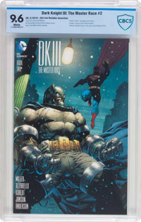 Dark Knight III: The Master Race #2 Jim Lee Retailer Incentive (DC, 2016) CBCS NM+ 9.6 White pages