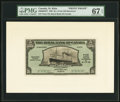 Canadian Currency, Saint Kitts, Basseterre- The Royal Bank of Canada $5 1.3.1938 Ch.#630-60-02FP & #630-60-02BP Front and Back Proofs.