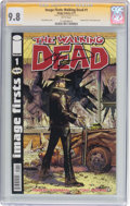 Modern Age (1980-Present):Horror, Image Firsts: Walking Dead #1 Signature Series (Image, 2011) CGCNM/MT 9.8 White pages....