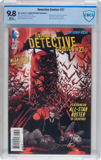 Detective Comics #27 Fabok Variant Cover (DC, 2014) CBCS NM/MT 9.8 White pages