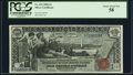 Large Size:Silver Certificates, Fr. 225 $1 1896 Silver Certificate PCGS Choice About New 58.. ...
