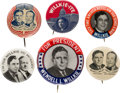 Political:Pinback Buttons (1896-present), Willkie & McNary: Jugates with Picture Pins....