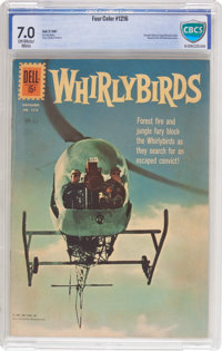 Four Color #1216 Whirlybirds (Dell, 1961) CBCS FN/VF 7.0 Off-white to white pages