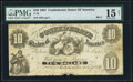 Confederate Notes:1861 Issues, T10 $10 1861 PF-7 Cr. UNL.. ...