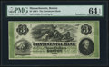 Obsoletes By State:Massachusetts, Boston, MA- Continental Bank $3 Oct. 18__ Remainder G6a. ...