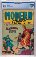 Golden Age (1938-1955):Superhero, Modern Comics #79 (Quality, 1948) CBCS FN- 5.5 Off-white pages....