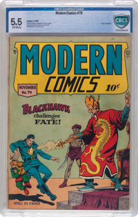 Modern Comics #79 (Quality, 1948) CBCS FN- 5.5 Off-white pages
