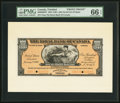 Canadian Currency, Port of Spain, Trinidad- The Royal Bank of Canada $100 2.1.1920 Ch.#630-66-06FP and 630-66-06BP Front and Back Proofs.. ... (Total: 2notes)