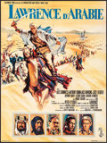 "Movie Posters:Academy Award Winners, Lawrence of Arabia (Columbia, 1962). French Moyenne (22.75"" X 30.25"") Howard Terpning Artwork. Academy Award Winners.. ..."
