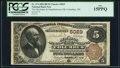 National Bank Notes:Ohio, Columbus, OH - $5 1882 Brown Back Fr. 474 The Merchants & Manufacturers NB Ch. # 5029. ...