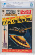 Golden Age (1938-1955):Science Fiction, Weird Science-Fantasy #26 Trimmed (EC, 1954) CBCS Restored FN/VF7.0 (SA) Off-white to white pages....