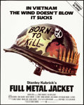 "Movie Posters:War, Full Metal Jacket (Warner Brothers, 1987). Poster (40"" X 50"") Advance, Phillip Castle Artwork. War.. ..."
