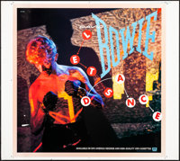 """Let's Dance by David Bowie (EMI America, 1983). Printer's Proof Album Poster (37.5"""" X 42""""). Rock and Roll"""