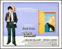 "The Long Goodbye (United Artists, 1973). Half Sheet (22"" X 28"") & Mini Lobby Cards (4) (8"" X 10). Ric..."