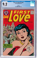 Silver Age (1956-1969):Romance, First Love Illustrated #80 File Copy (Harvey, 1957) CGC NM- 9.2Cream to off-white pages....