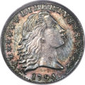 Early Half Dimes, 1794 H10C V-4, LM-4, R.4, AU58 PCGS. The date is f...