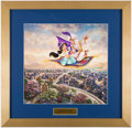 Miscellaneous Collectibles:General, Disney's Aladdin Thomas Kinkade Framed Print.. ...