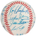 Autographs:Baseballs, New York Yankees Greats Multi-Signed Baseball (20 Signatures).. ...