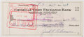 Autographs:Checks, 1957 Jackie Robinson Signed Check. . ...
